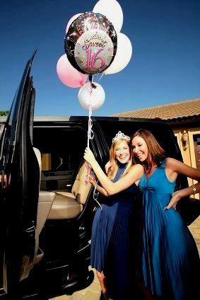 Sweet Sixteen Party Bus, Sweet Sixteen Limo Bus, Sweet Sixteen Limousines